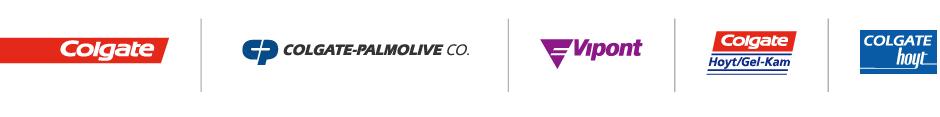 Colgate Oral Pharmaceuticals, Colgate-Palmolive Co, Vipont, Colgate Hoyt/Gel-Kam and Colgate Hoyt Logos