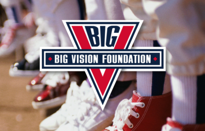 BIG Vision Foundation Logo, with youth baseball