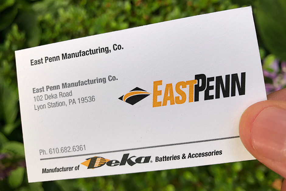 East Penn Manufacturing Brand and Deka Batteries, CrossRoads Studios
